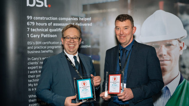 IML Presented With Awards at EcoBuild thumbnail