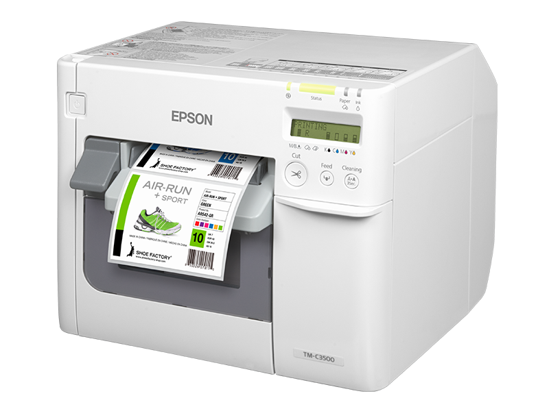 Epson ColorWorks 3500 Desktop Inkjet Printer