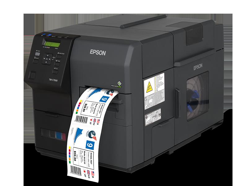 Epson ColorWorks 7500 Industrial Inkjet Printer