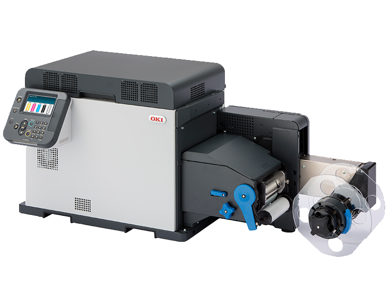 OKI pro 10 series roll format laser printer