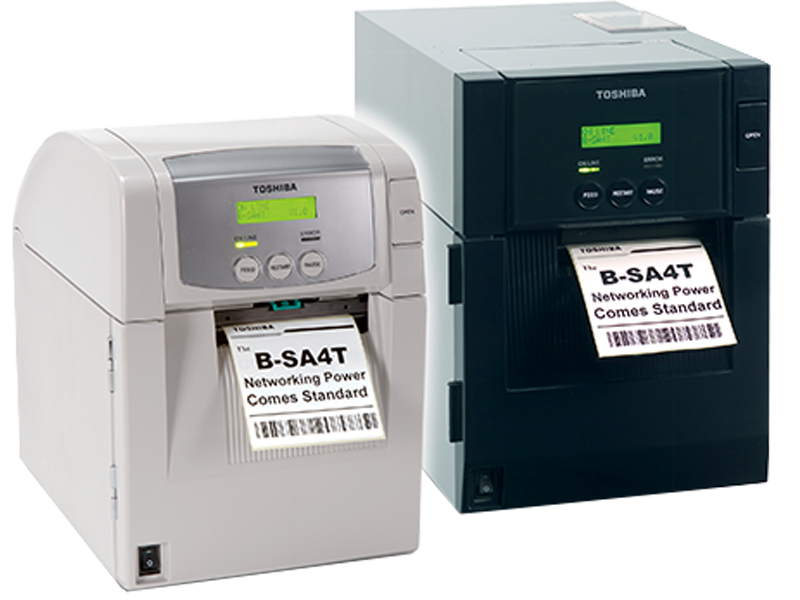 Toshiba SA4 Range of thermal transfer printers - either metal or plastic cased