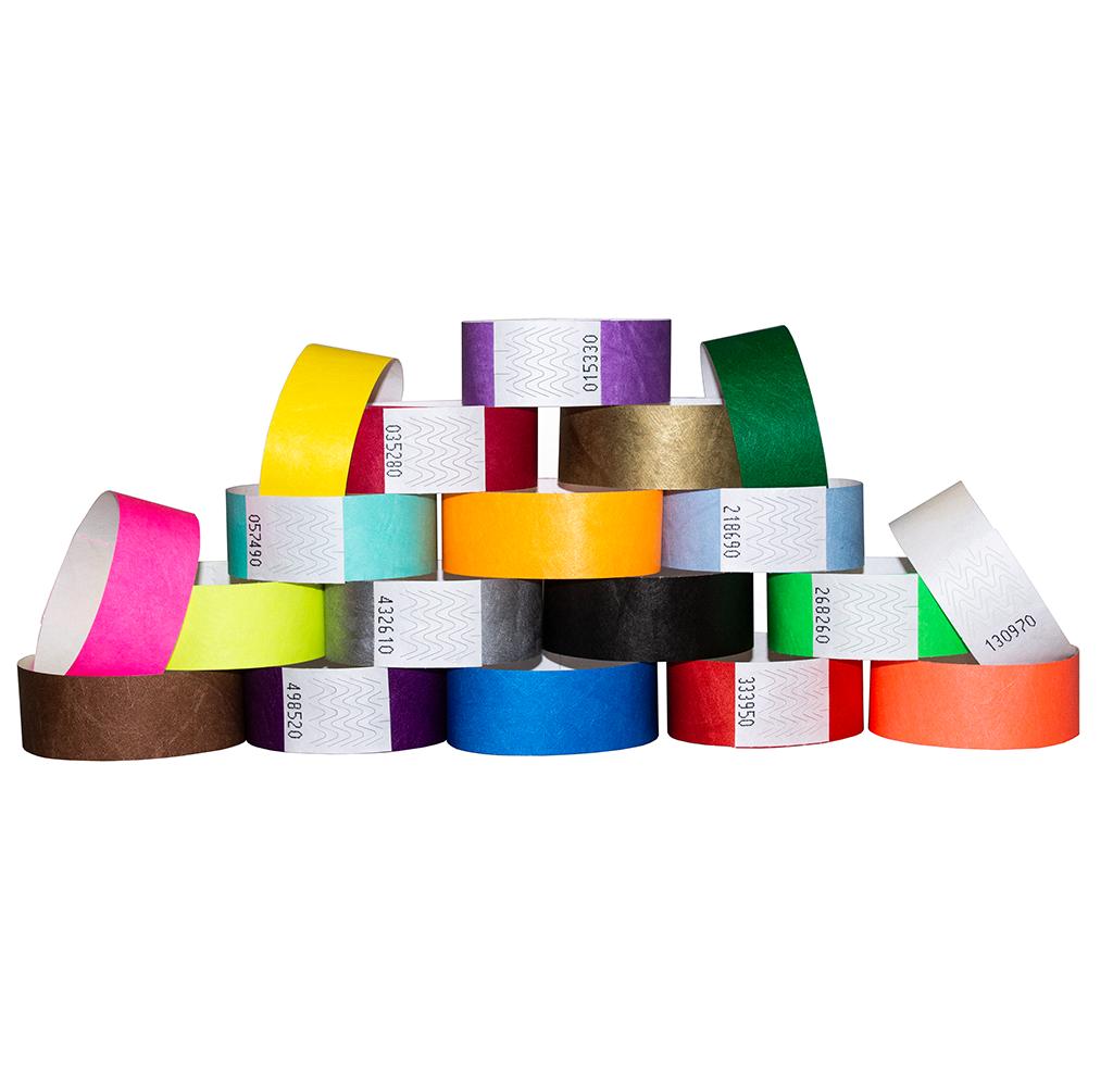 All Plain Wristband Stock