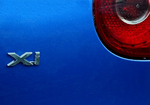 Rear exterior car badge