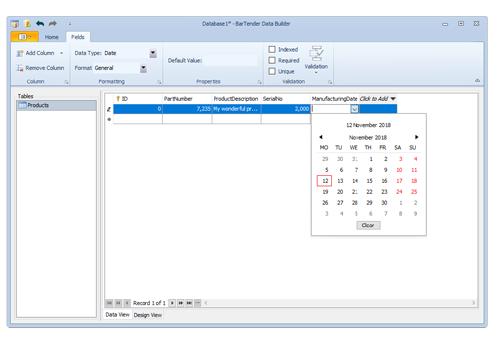 BarTender Software Screenshot