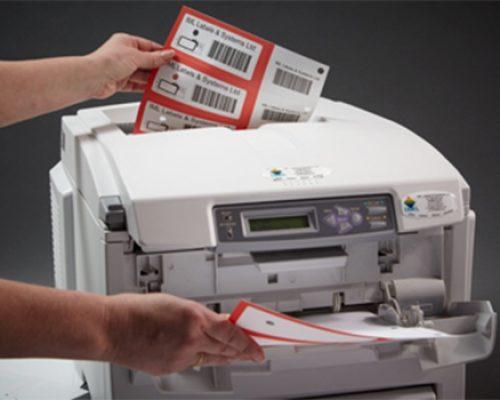 Label printing demonstration
