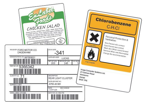 EnLabel Software Designed Labels