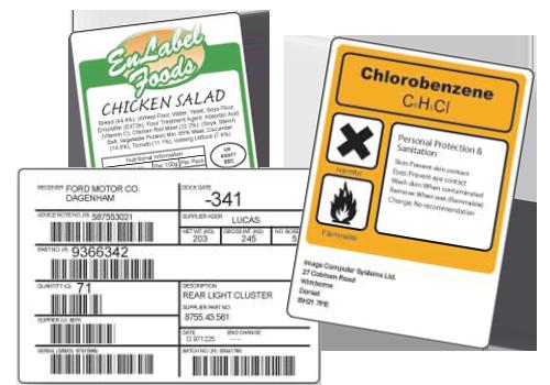 EnLabel Software Designed Labels