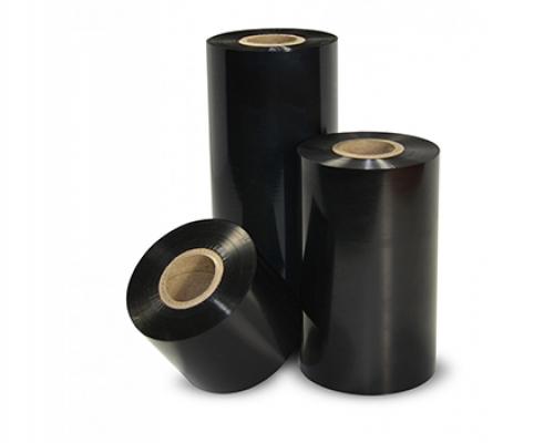 Black thermal transfer printer ribbon
