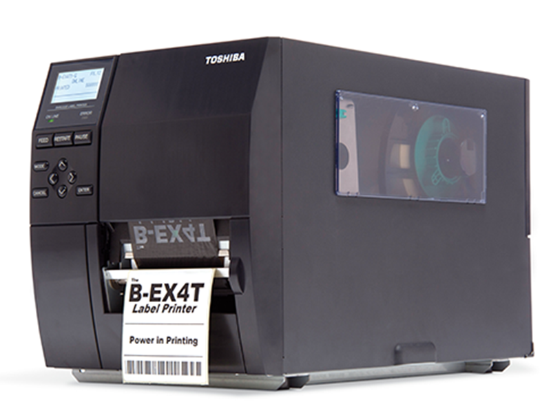 Toshiba EX4 thermal tranfer printer for industrial environments