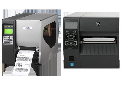 TSC and Zebra Thermal Transfer Printers